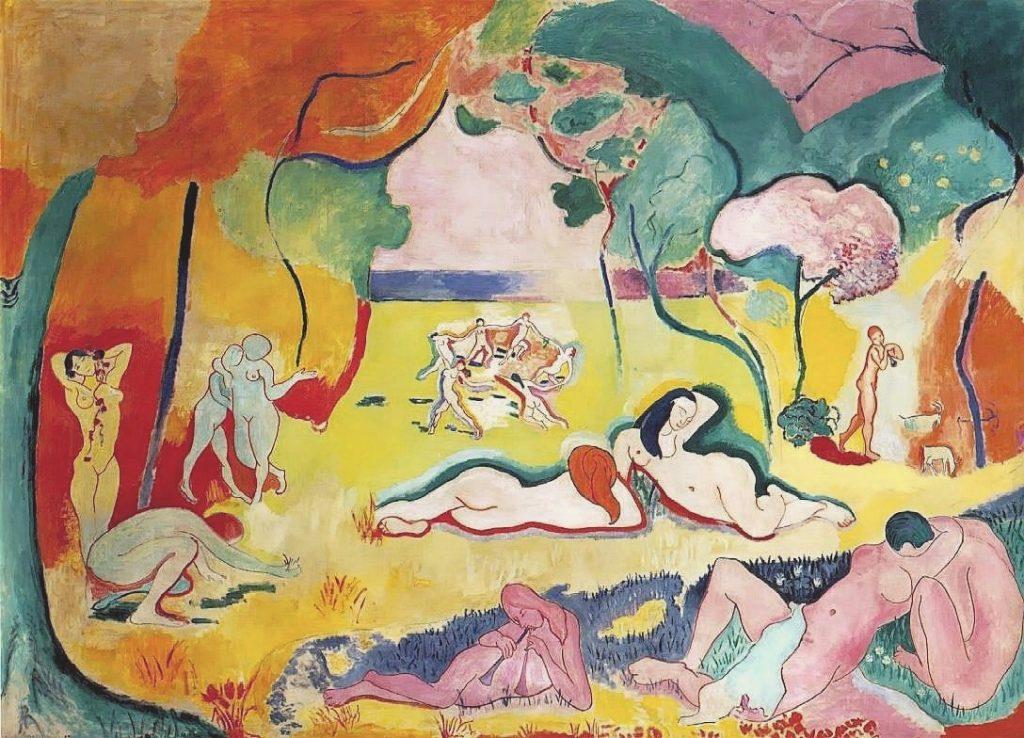 Le bonheur de vivre Matisse Lire un tableau analyse