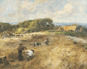 Peinture Léon Augustin Lhermitte