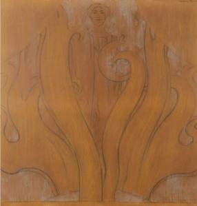 Dessin Fernand Khnopff