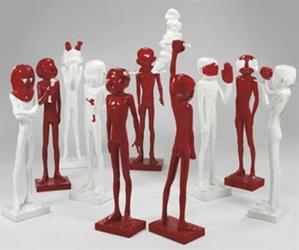 Sculpture Liu Bolin