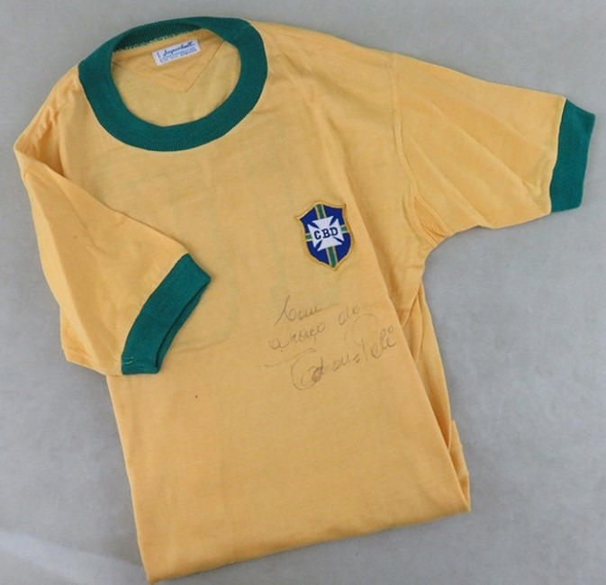 Le maillot de Pelé