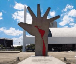 Estampe Oscar Niemeyer