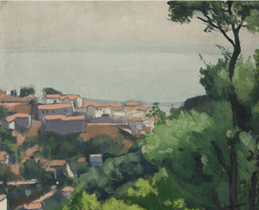 """Oeuvre """"'Mustapha Supérieur' d'Albert Marquet, 1924"""