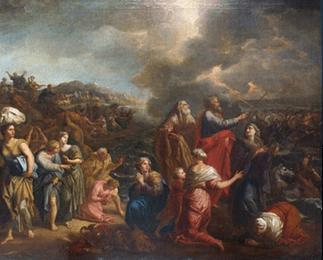 Le passage de la mer rouge d'Arnould de Vuez