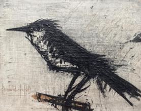 """Oeuvre """"L'oiseau"""" de Bernard Buffet, 1963"""