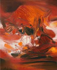 "Oeuvre ""Sans Titre"" de Chu The-Chun, 1975"