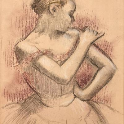 "Oeuvre ""Danseuse"" d'Edgar Degas, 1896-1899"