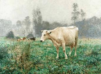 """""""Vaches dans les Prés"""" d'Emile Claus"""