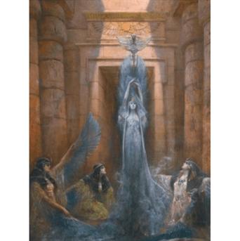 """Oeuvre """"La déesse Neith"""" de Georges Clairin"""