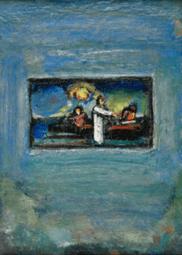 """Oeuvre """"La pêche miraculeuse"""" de Georges Rouault, 1935"""