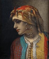 "Oeuvre ""Marocaine"" de Jan-Frans Portaels"