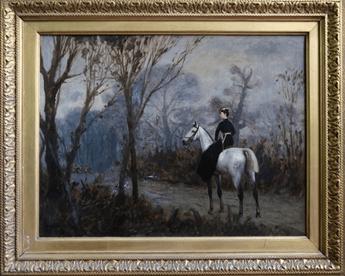 """Oeuvre """"La duchesse d'Uzès"""" de Jean-Léon Gérome"""