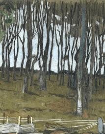 """Oeuvre """"Fileuses de Douarnenez"""" chez Mathurin Meheut, 1913"""