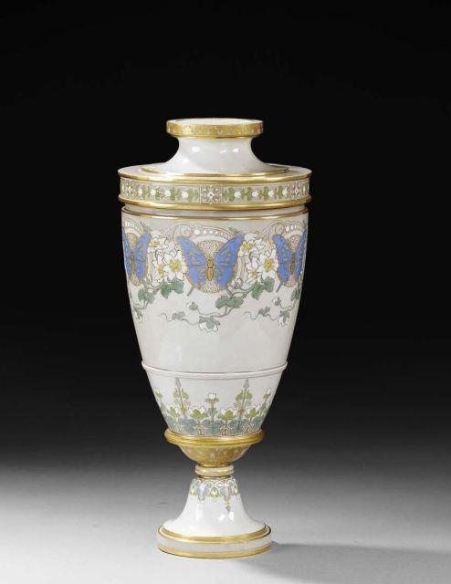 Vase porcelaine dure de Sèvres