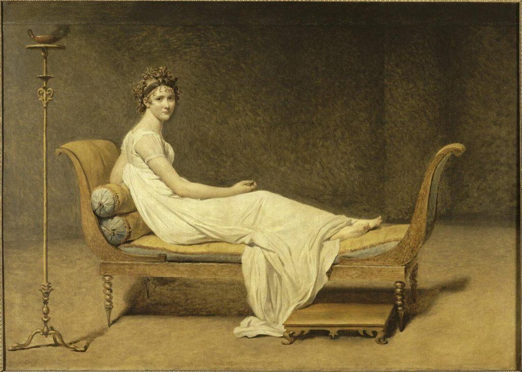 Portrait de Madame Récamier, David