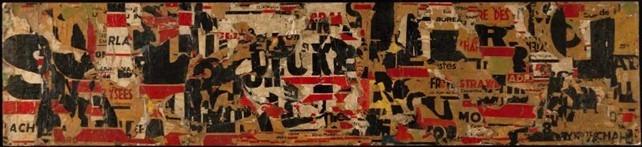 Oeuvre de Raymond Hains Jacques Villeglé