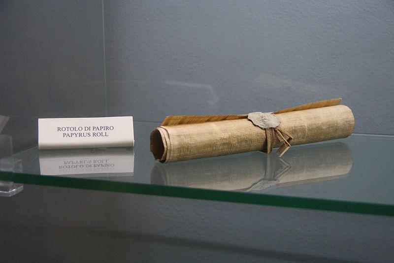 rouleau de papyrus
