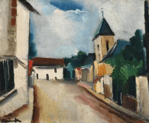 Peinture Maurice de Vlaminck
