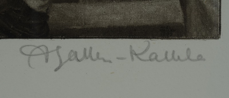 Signature Akseli Gallen Kallela