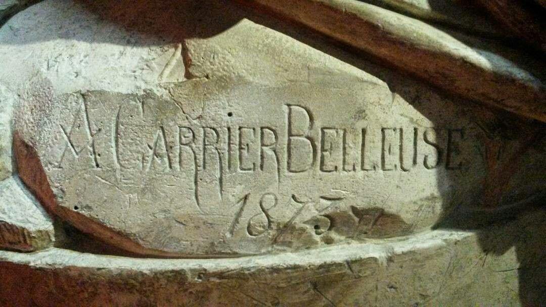 Signature Albert Ernest Carrier-Belleuse