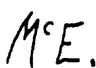 Signature Ambrose Mcevoy