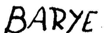 Signature Antoine-Louis Barye