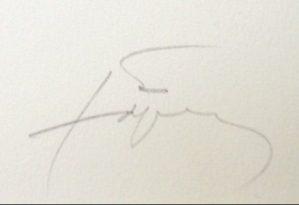 signature antoni tapies