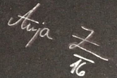 Signature Arne Jacobsen