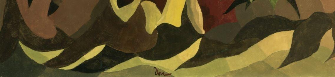 Signature Arthur Garfield Dove