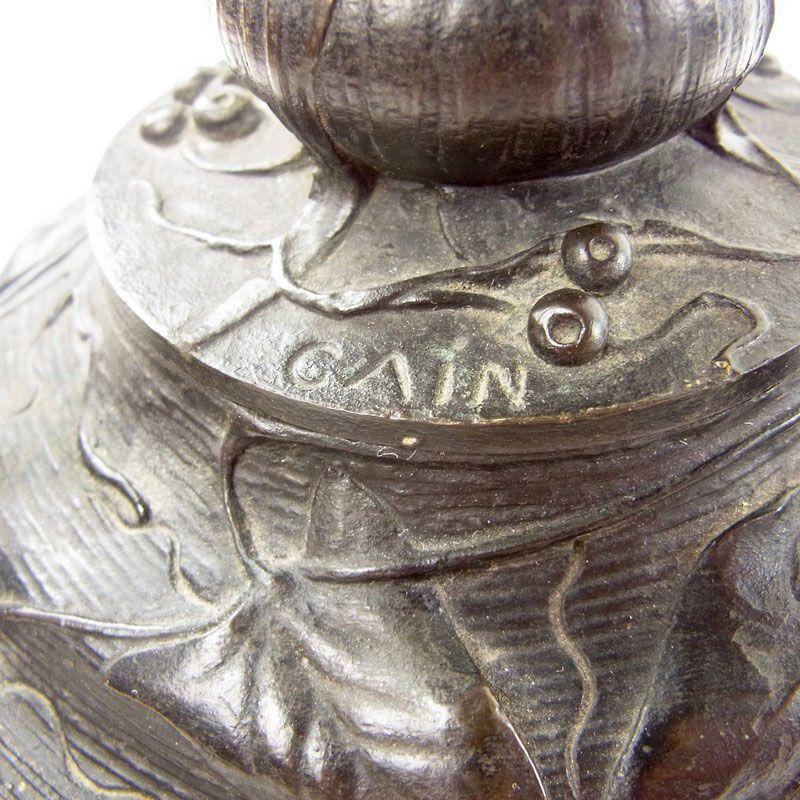 Signature Auguste-Nicolas Cain