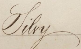 Signature Camille Silvy