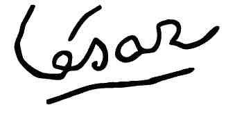 Signature César
