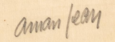 Signature Edmond Aman Jean