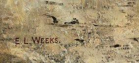 signature edwin lord weeks