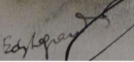 Signature Edy Legrand