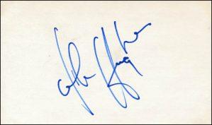signature edward john hughes