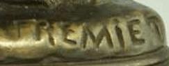Signature Emmanuel Frémiet