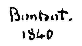 Signature Etienne Bouhot