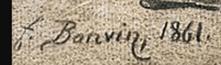 Signature François Bonvin
