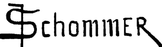 Signature François Schommer