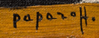 Signature Geogers Papazoff
