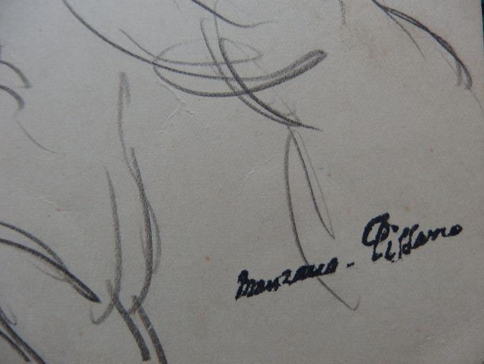 Signature Georges Manzana-Pissarro
