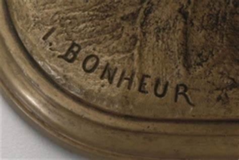 Signature Isidore Jules Bonheur