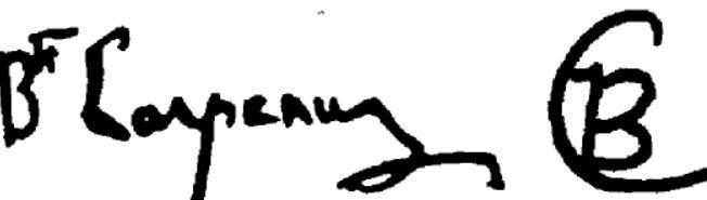 Signature Jean-Baptiste Carpeaux