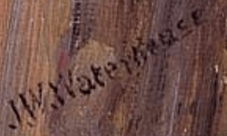 Signature John William Waterhouse