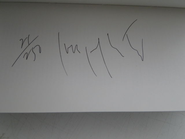 Signature Joseph Kosuth