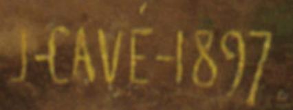 Signature Jules-Cyrille Cavé