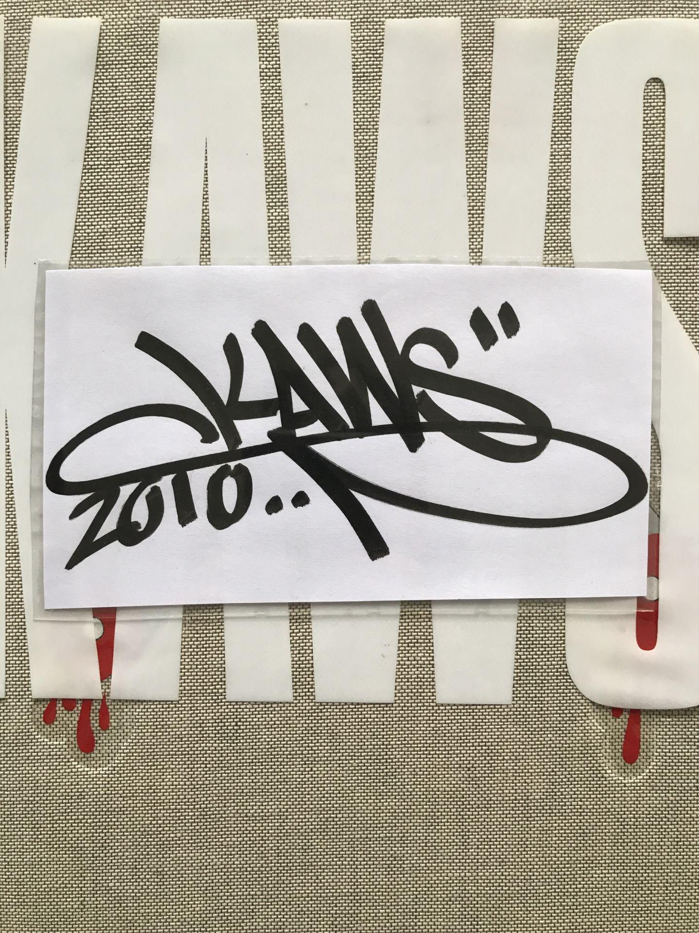 Signature Kaws