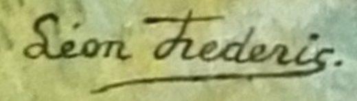 signature leon frederic