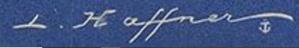 Signature Léon Haffner